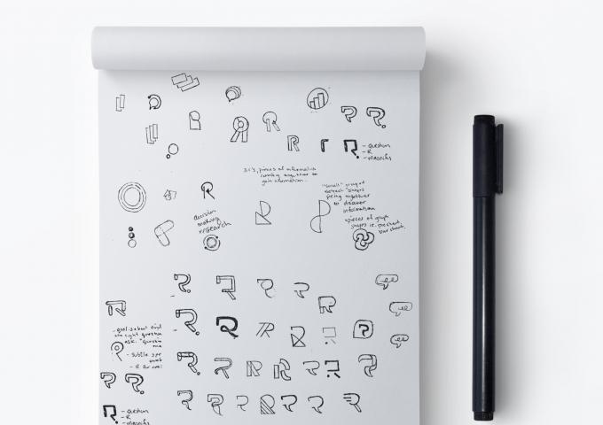 Recollective Logo Sketches