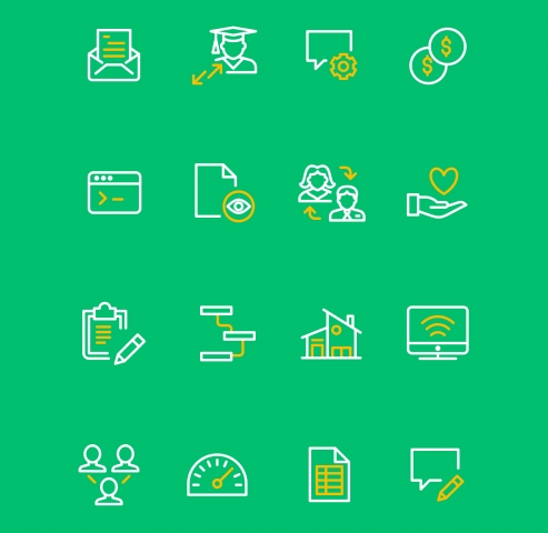 SurveyMonkey Apply Icons