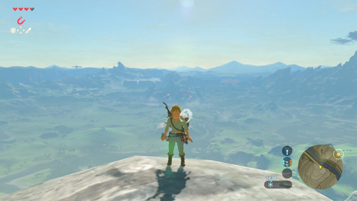 Link is cold